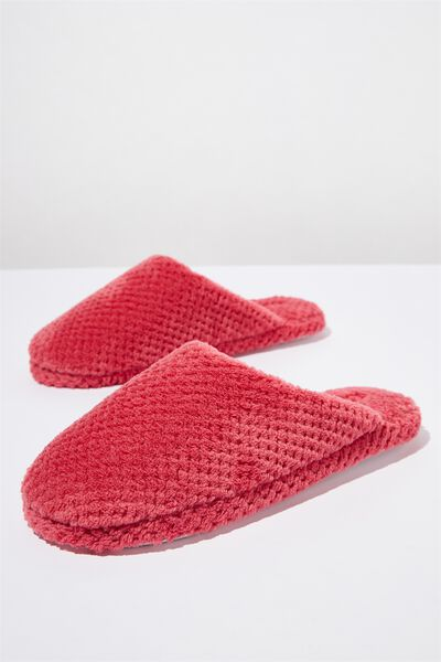 The Plush Slipper, ROSEY PINK