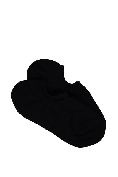 Sports Low Cut Sock, BLACK