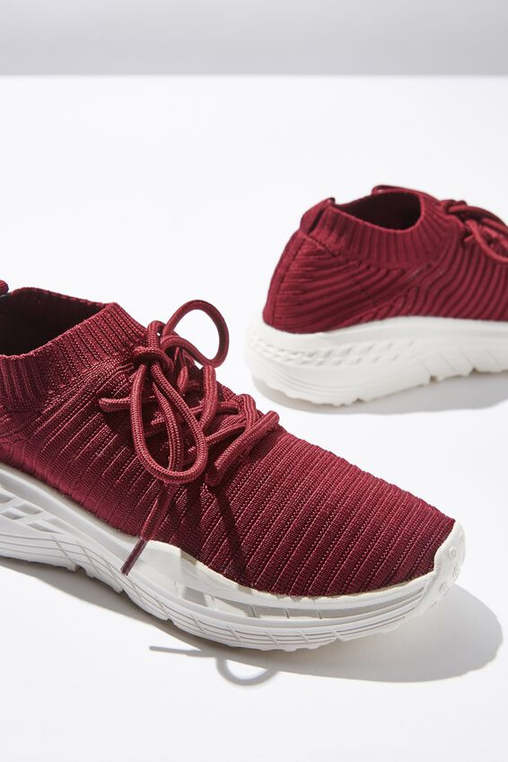 Freya Sock Trainer, DEEP MAROON