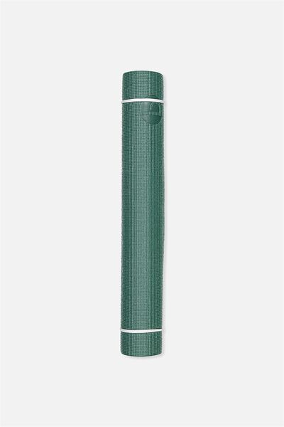 Active Yoga Mat, HUNTER GREEN