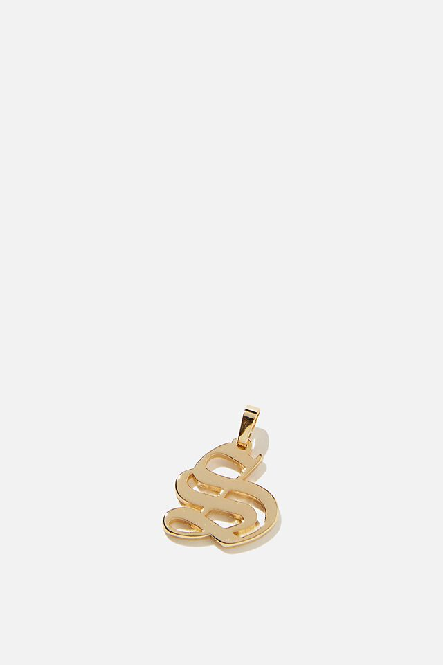 Premium Charm, GOLD PLATED S