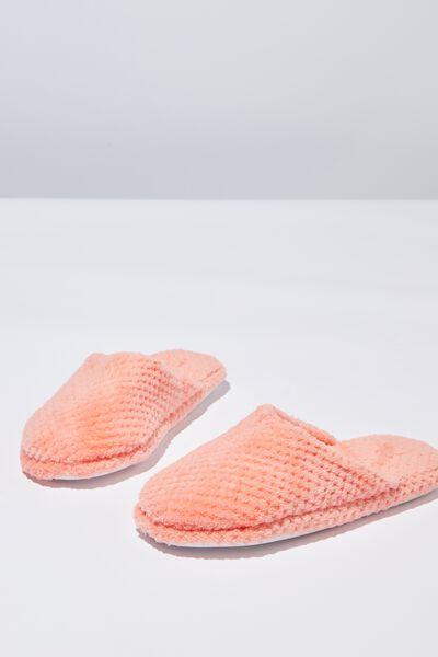 The Plush Slipper, CORAL SORBET