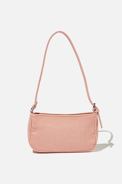 Lexi Underarm Bag, DUSTY PINK CORD