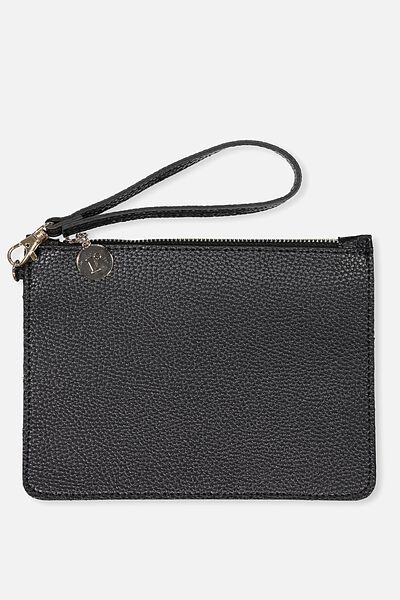Margot Clutch, BLACK