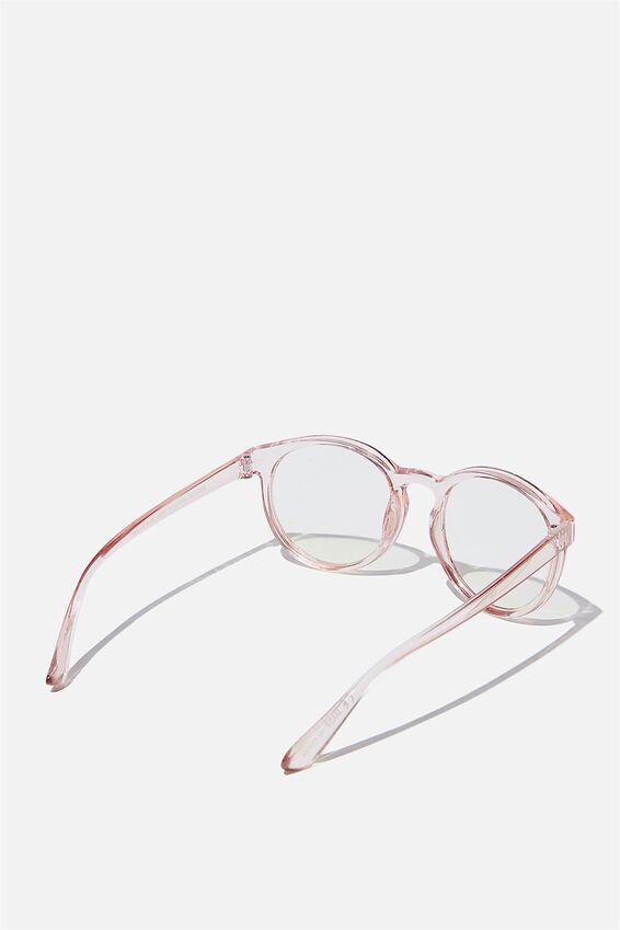 Rollin Blue Light Blocking Glasses, ROSE