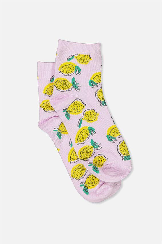 Fun Sock, LEMONADE DROP