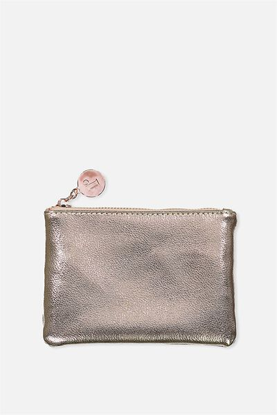 Meadow Coin Purse, ROSE GOLD