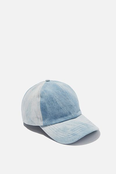 Kaia Cap, DENIM ACID WASH