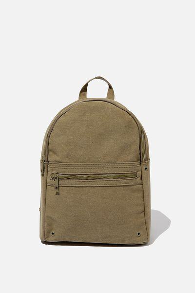 Brazen Backpack, KHAKI WASH CANVAS