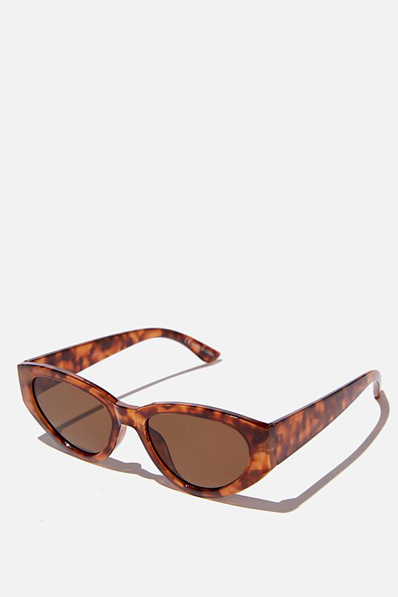 Taylor Cateye Sunglasses, TORT