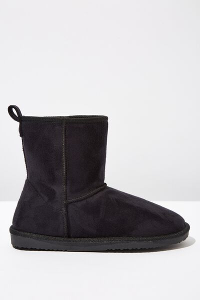 Short Home Boot, BLACK