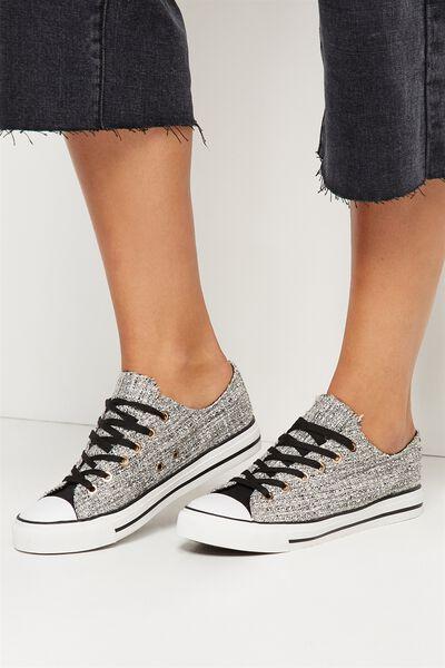 Jodi Low Rise Sneaker 1, BOUCLE