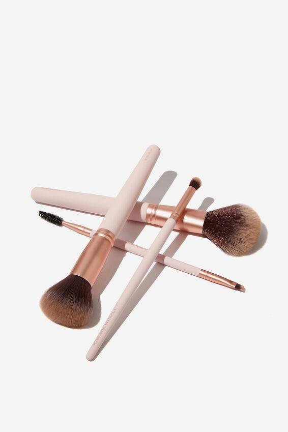 Eyeshadow Brush, PINK/ROSE GOLD