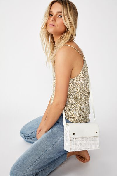 Picnic Bag, WHITE