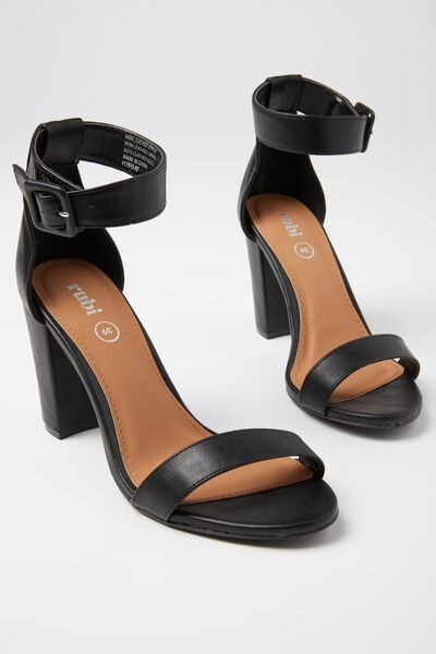 San Sebastian Heel, BLACK PU