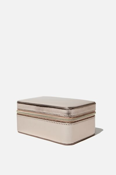 Medium Jewellery Box, ROSE GOLD