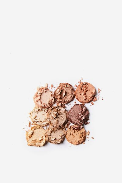 Eyeshadow Palette - 9 Colour, GOLDEN HOUR