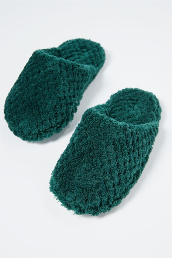 The Plush Slipper, EMERALD