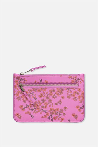 Queens Clutch Purse, LAURA JANE FLORAL