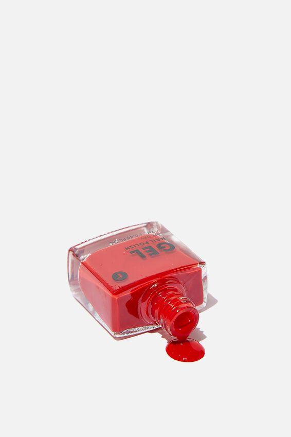 Gel Nail Polish, RED