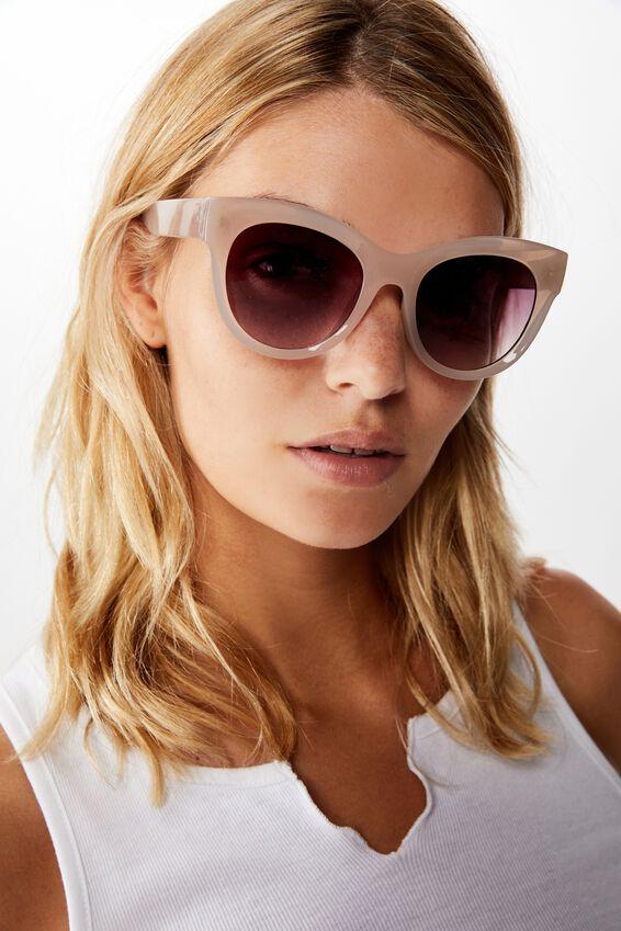 Wendi Cateye Sunglasses, BLUSH