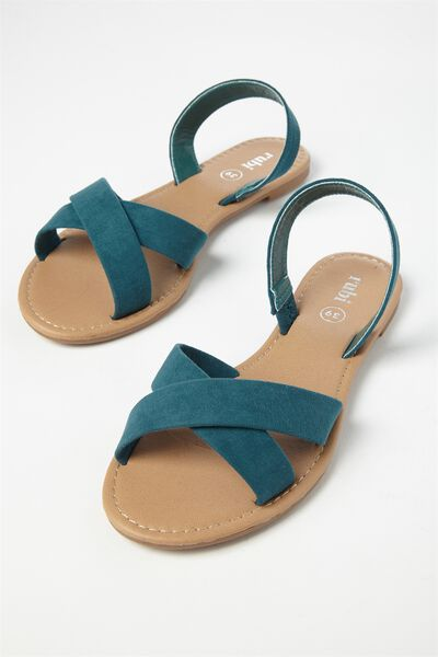 Everyday Banting Crossover Sandal, JUNE BUG MICRO