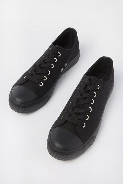 Jodi Low Rise Sneaker 1, BLACK/BLACK