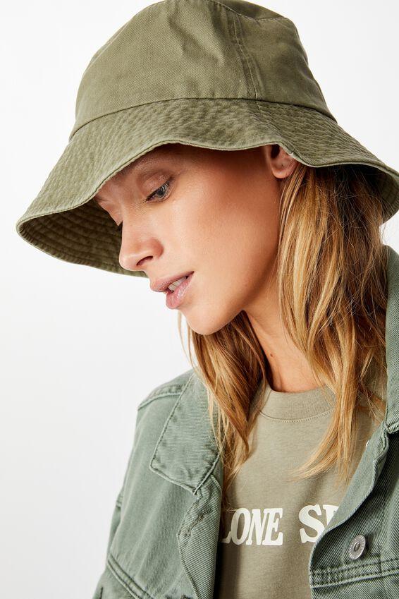 Bianca Bucket Hat, KHAKI