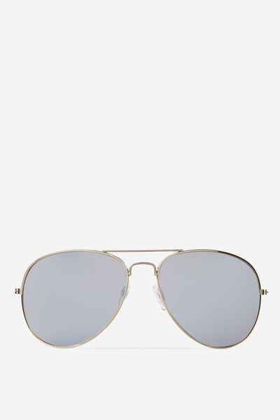 Belle Sunglasses, SILVER/SILVER