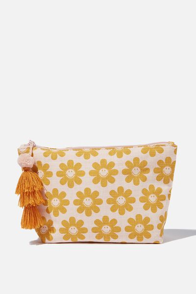Everyday Pouch, LCN SM SMILEY DAISY CLOUD PINK