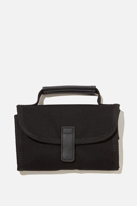 Reusable Lunch Bag, BLACK