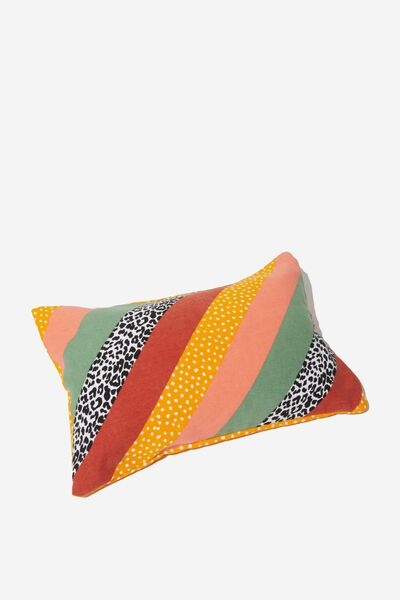Waikiki Inflatable Pillow, SPLICED STRIPE