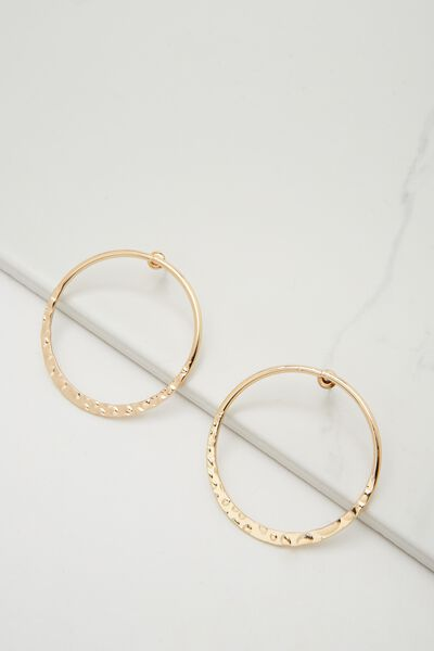 Pico Single Hoop, GOLD
