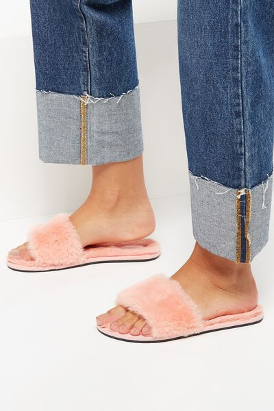 Cosmopolitan Slipper Slide, PEACH