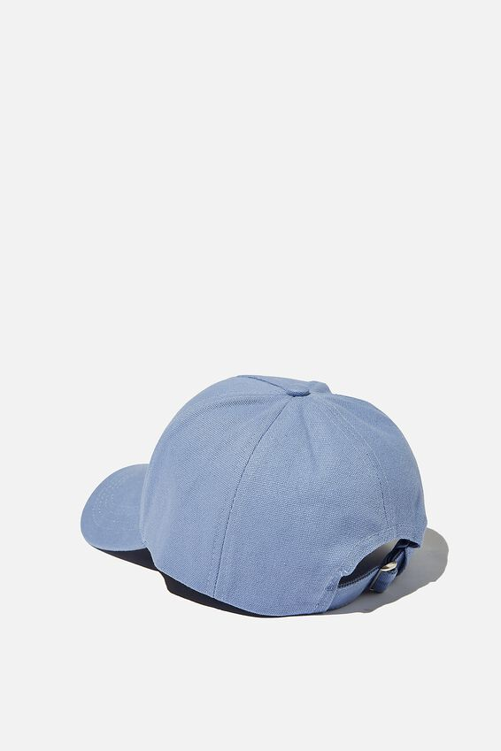 Hailey Structured Cap, LCN PUS LAZY PUSHEEN/ SKY BLUE