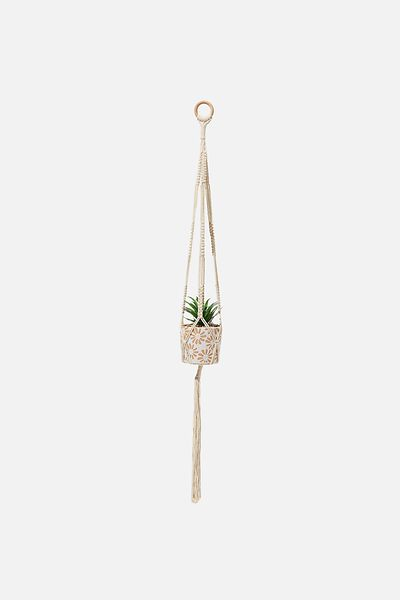 Macrame Hangings, NATURAL