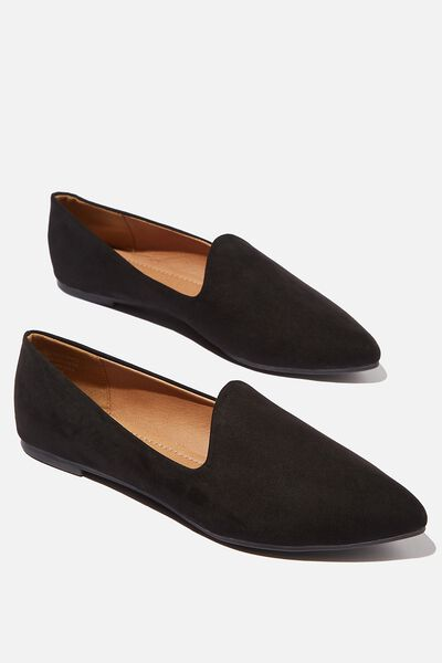 Essential Tiana Slipper, BLACK MICRO