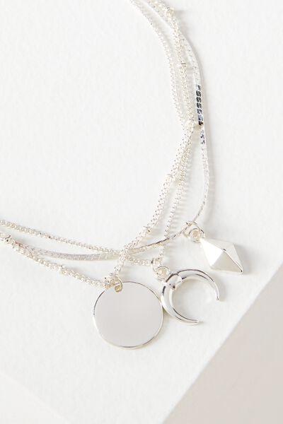 Juliet Bracelet Set, SILVER