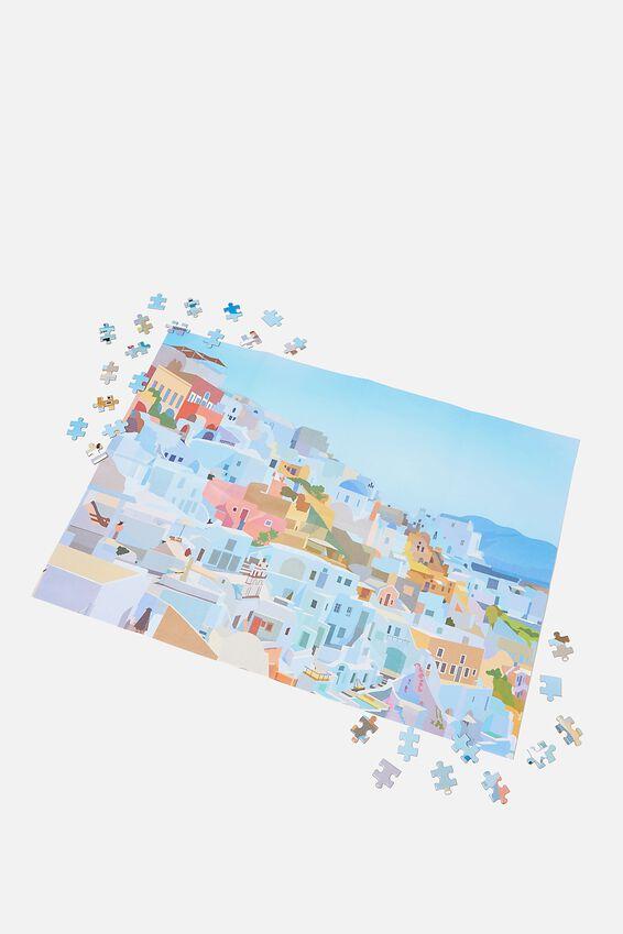 Jigsaw Puzzle 500Pcs, GREECE (SANTORINI)