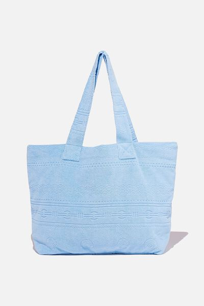 Hello Sunshine Tote, COLLEGIATE BLUE