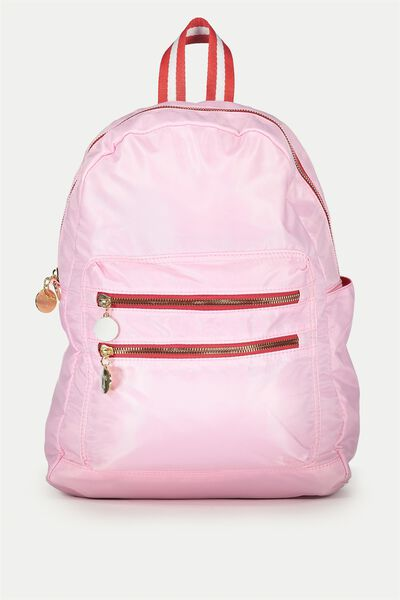 Explorer Backpack, PINK/RED