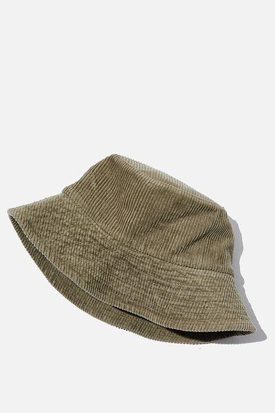 Bianca Bucket Hat, KHAKI CORD