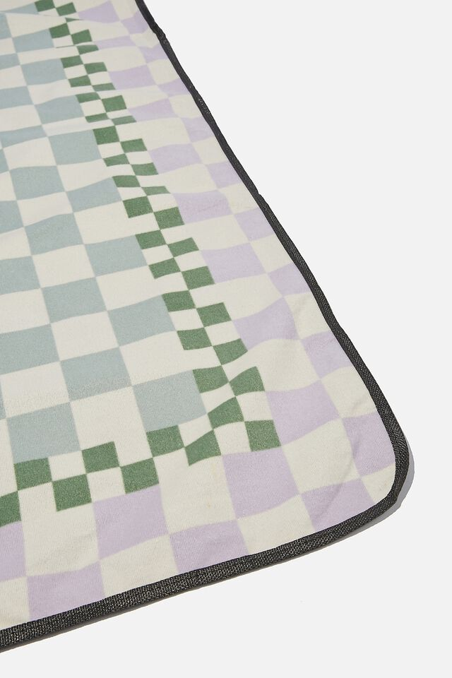Picnic Blanket, CHECKER BOARD