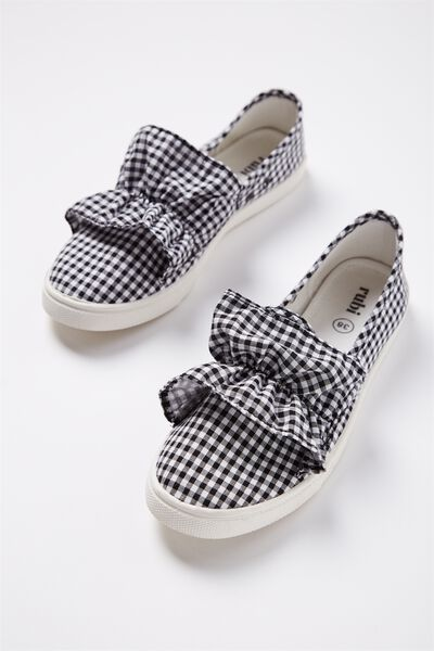 Hazel Frill Slip On, GINGHAM