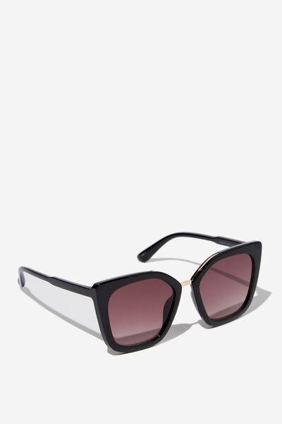 Chels Sunglasses, S.BLK/GOLD