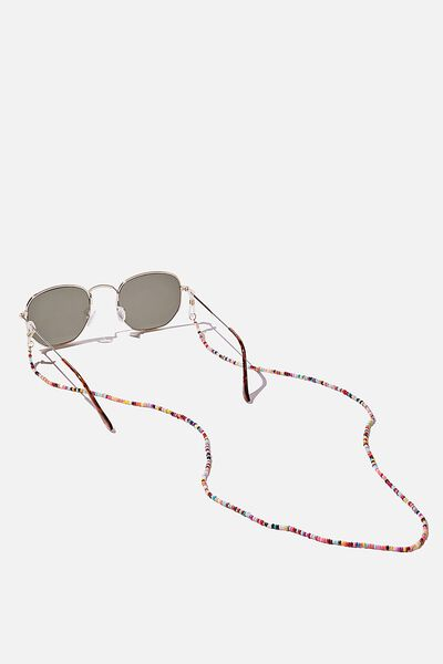 Beaded Sunnies Chain, BRIGHT BEADS