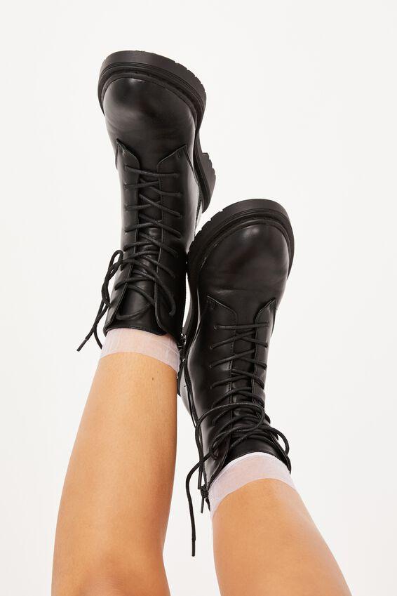 Sheer Frilled Ankle Sock, WHITE