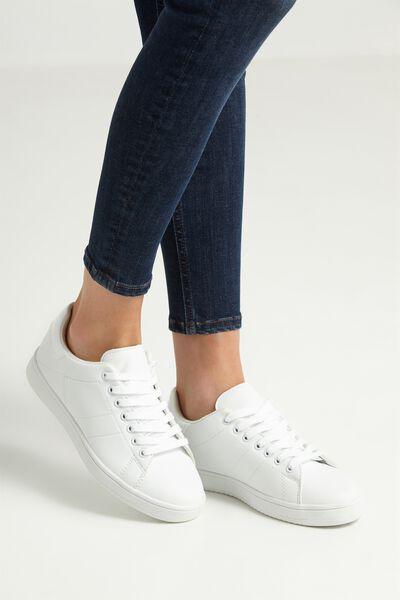 Cathryn Sneaker, WHITE