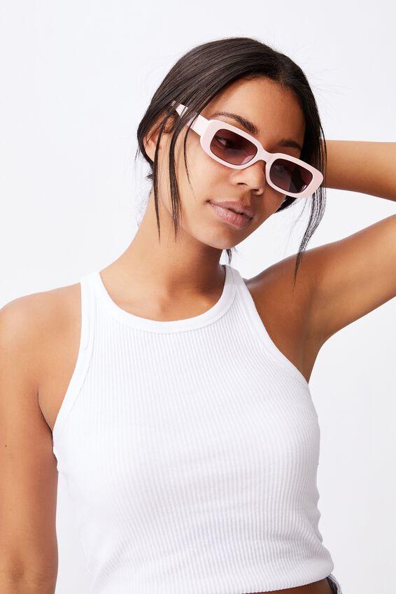 Abby Sunglasses, POWDER PINK
