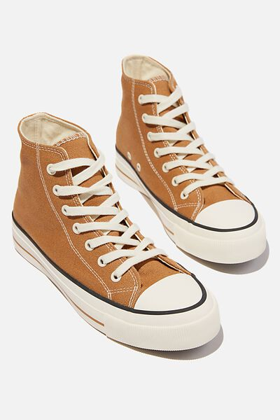 Britt Retro High Top, TAN